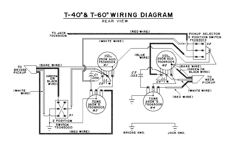 T60Mafia Your Unofficial T60 Online Resource – Evh Wiring Diagram